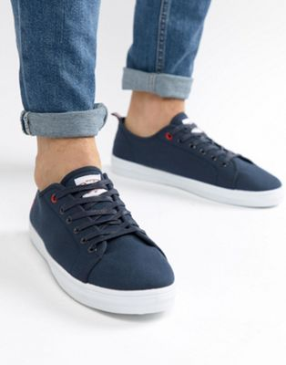 Original Penguin Faze Trainers In Navy