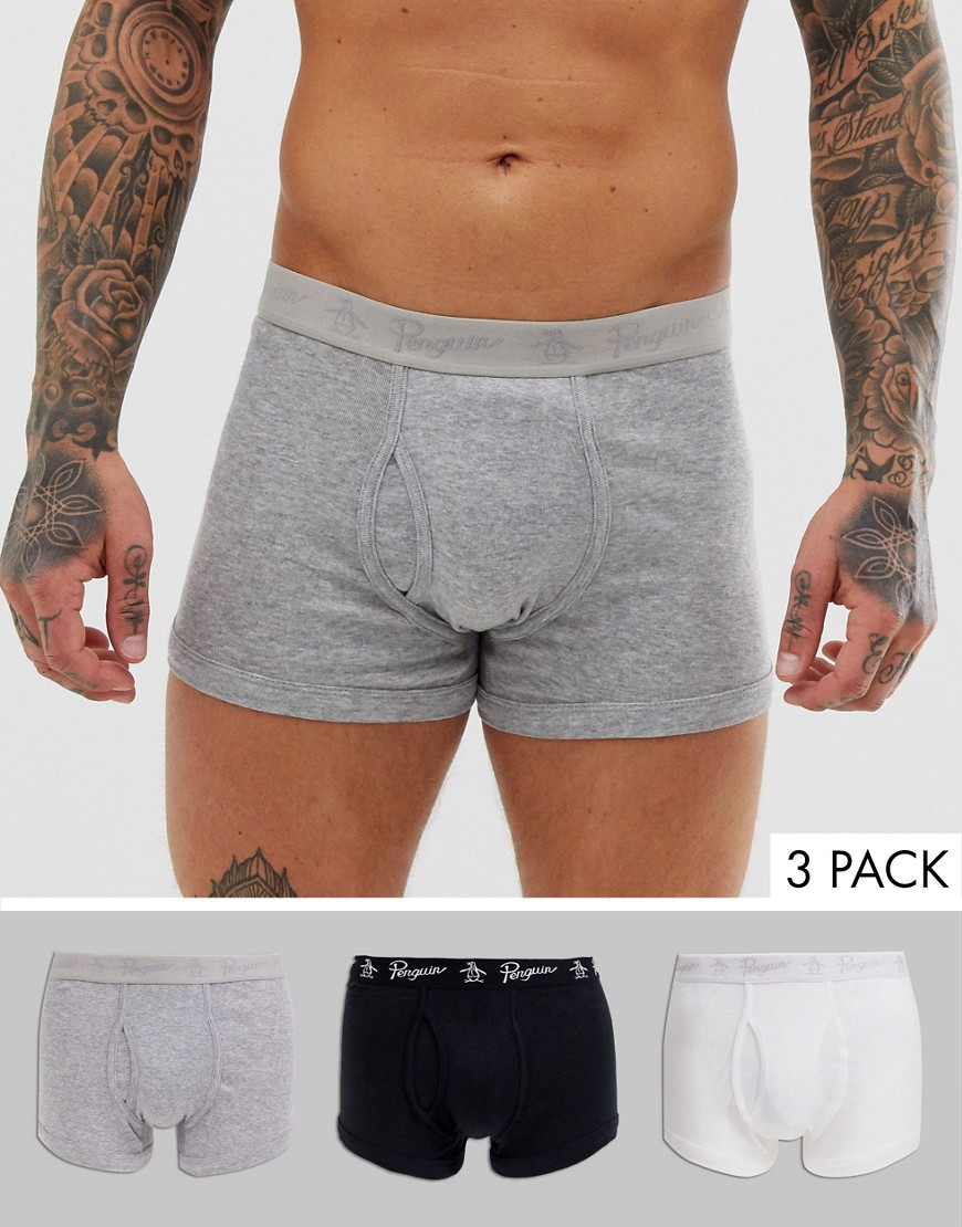 Original Penguin - Lot de 3 boxers basiques-Multi