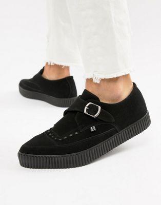 Остроносые туфли из искусственной кожи с пряжкой T.U.K