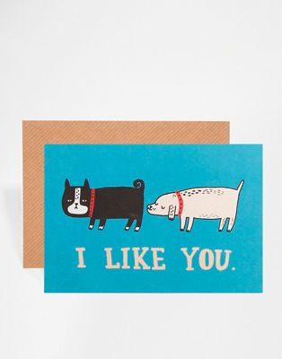 "Открытка ""I Like You"" Ohh Deer"
