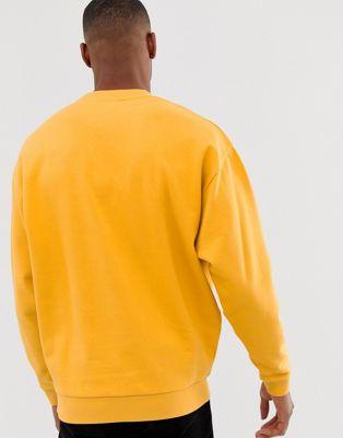 En Negro Pack amarillo Design De Sudaderas 2 Asos Extragrandes wiTkOXPuZ