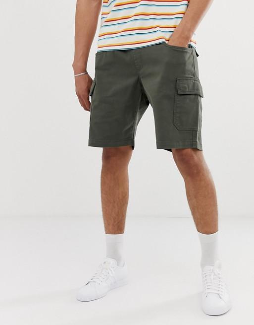 Pantalones cortos cargo en caqui de Brooklyn Supply Co