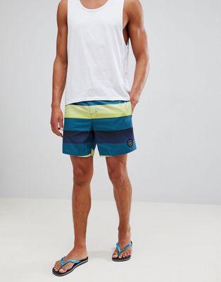 Pantalones cortos de rayas Santa Cruz de O'Neill