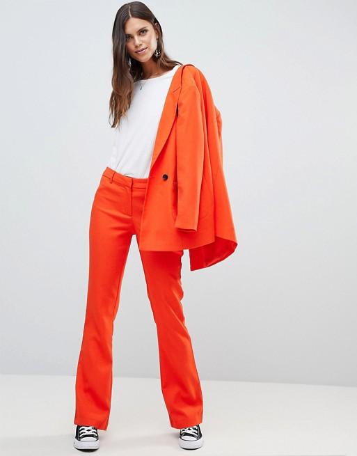Pantalones de sastre de conjunto de color de Y.A.S