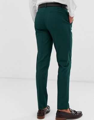 Vestir De Pantalones Bosque Verde Oscuro Design Ajustados En Asos 6I7gYvbfy