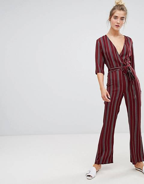 Parisian stripe jumpsuit