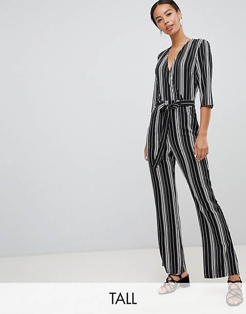 Parisian Tall stripe jumpsuit