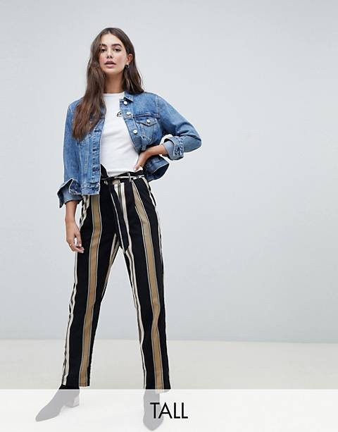 Parisian Tall stripe wide leg pants