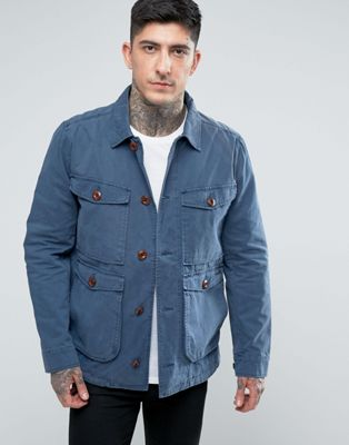 Parka London Dyed Four Pocket Jacket
