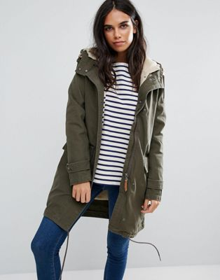 Parka London Elisa Cotton Parka Jacket