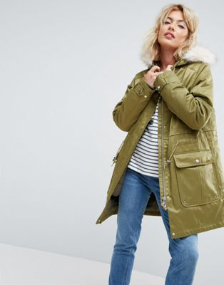Parka London Kay 3 in 1 Parka Bomber Jacket