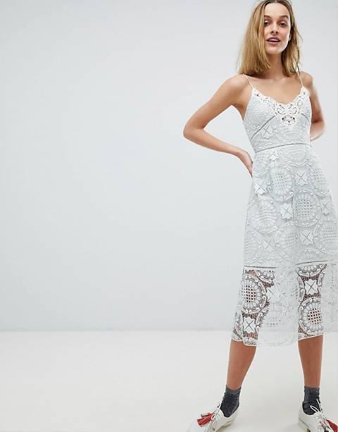 Paul & Joe Sister Lace Cami Midi Dress