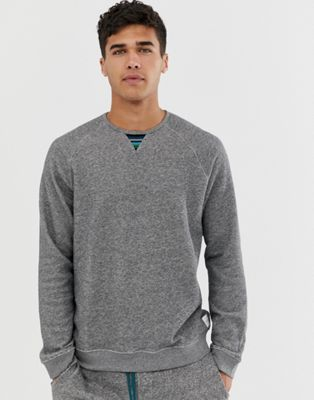 Image 1 of Paul Smith crew neck lounge sweat in gray