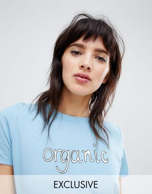 People Tree Organic Cotton T-Shirt With Slogan