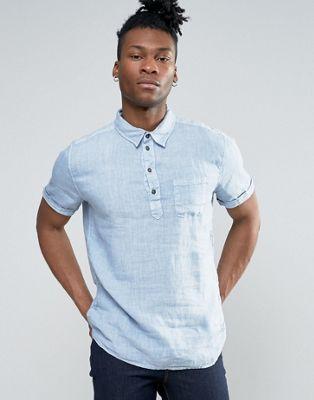 Pepe Jeans Half Placket Short Sleeve Shirt