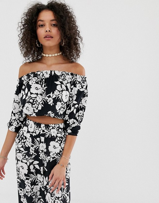 648180882c6e8c Pia Rossini monteros beach co-ord off shoulder top | ASOS