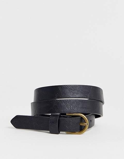Pieces - Cintura vita e fianchi con fibbia arrotondata