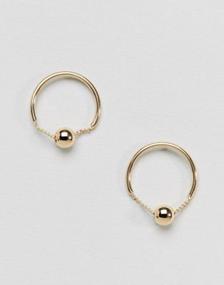 Image 1 of Pieces Circle Stud Earrings