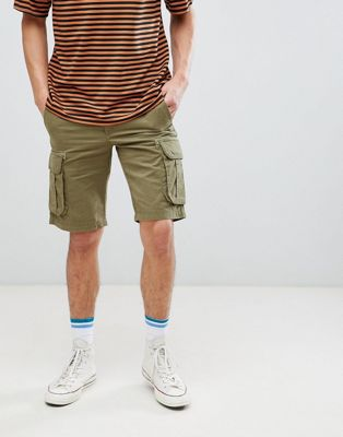 Bild 1 von Pier One – Cargo-Shorts in Khaki