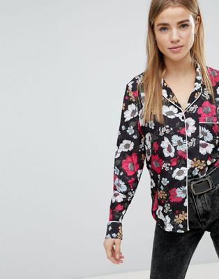 Pimkie – Bluse mit Blumenprint