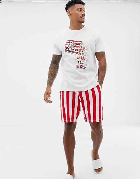 Пижама с попкорном ASOS DESIGN 09df110705610