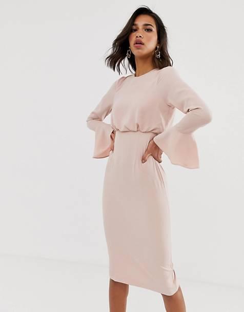 fd3136d1a6ebe23 Платья длиной до колена   Длинные вечерние платья, платья для ...