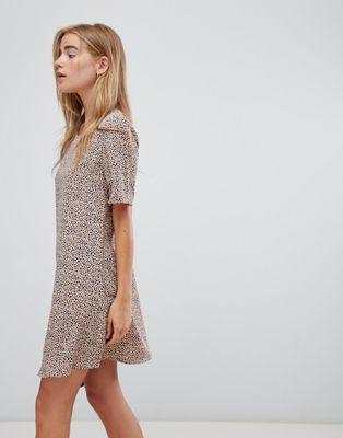 Платье с далматиновым принтом Glamorous