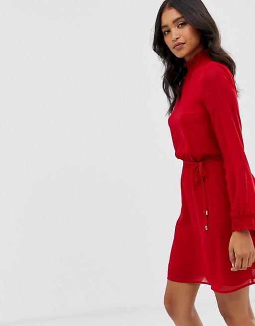 Платье с высоким воротом Oasis