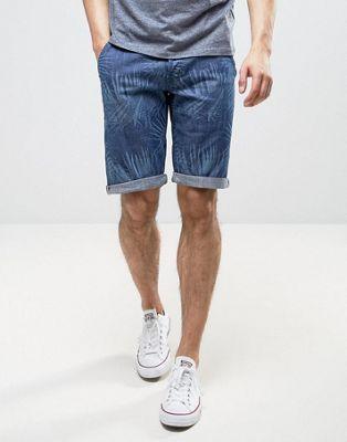 Пляжные шорты с пальмовым принтом Wrangler Wrangler