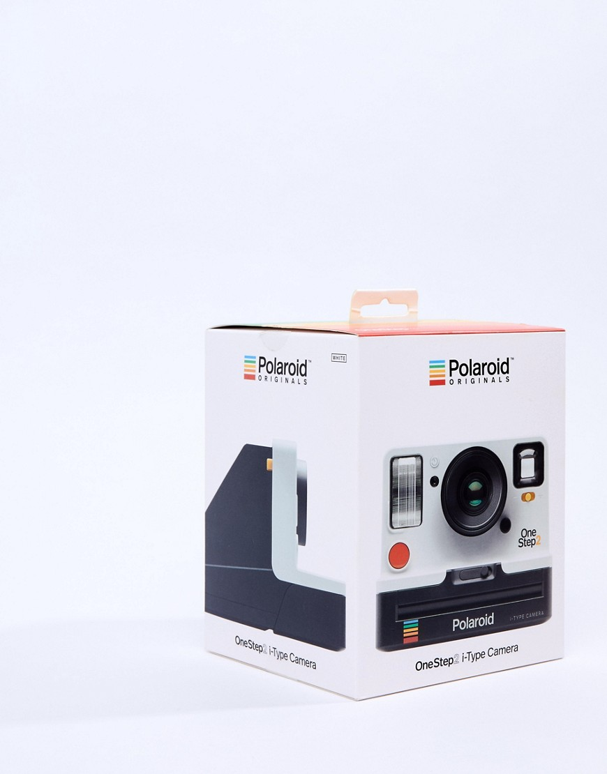 Polaroid One Step Camera In White by Asos Brand