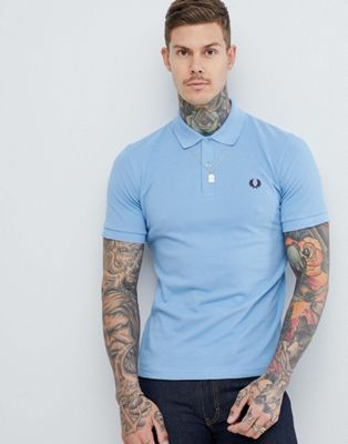 Polo en azul cielo Reissues de Fred Perry