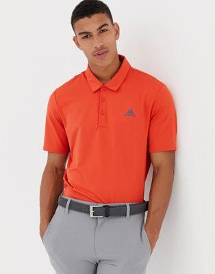 Imagen 1 de Polo en naranja Golf Ultimate 365 de adidas