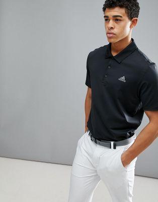 Polo negro CY5403 Golf Ultimate 365 de adidas