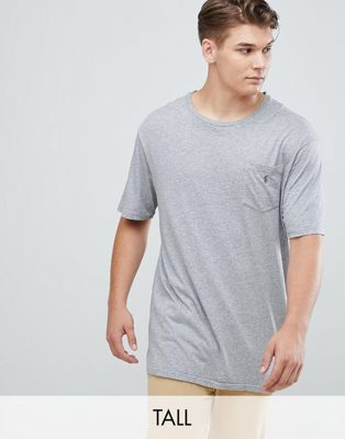 Polo Ralph Lauren Big & Tall pocket t-shirt polo player in grey heather