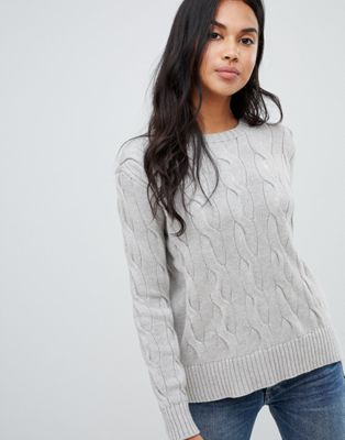 Polo Ralph Lauren Exaggerated Cable Knit Jumper by Polo Ralph Lauren