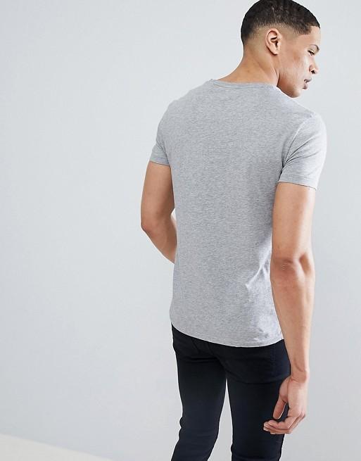 77ecdffa7cea9b Polo Ralph Lauren Pocket T-Shirt Polo Player in Grey Marl | ASOS