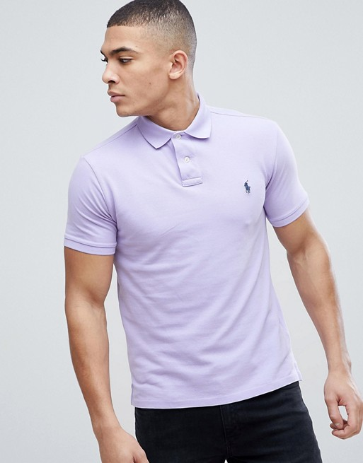 In Lauren Polo Lilac Ralph Slim Fit Pique T35lK1cuJF