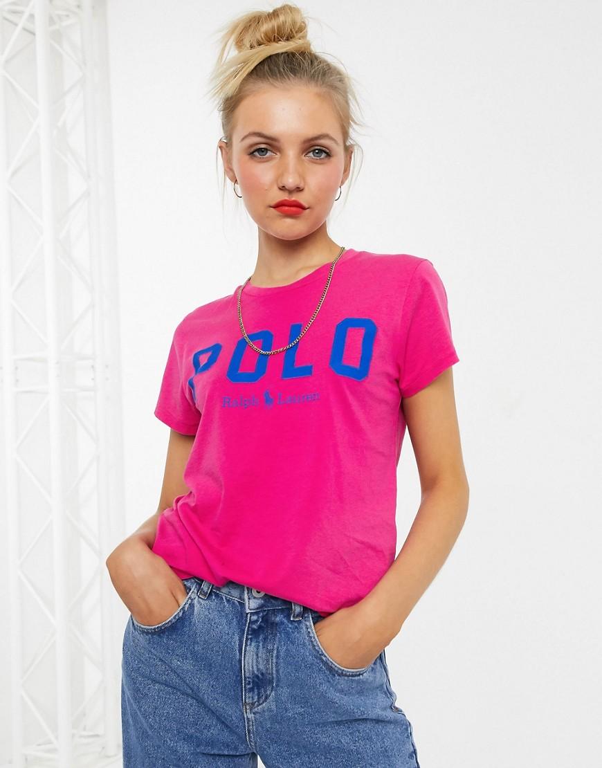 polo ralph lauren -  – T-Shirt mit Logo-Rosa
