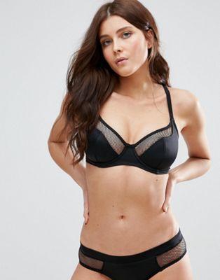 Image 1 sur Pour Moi - Glamazon - Haut de bikini multipositions à armatures, bonnets C à G