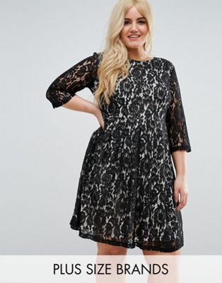 Praslin Lace Skater Dress