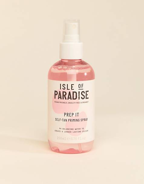 Prep It selvbruner priming spray 200ml fra Isle of Paradise