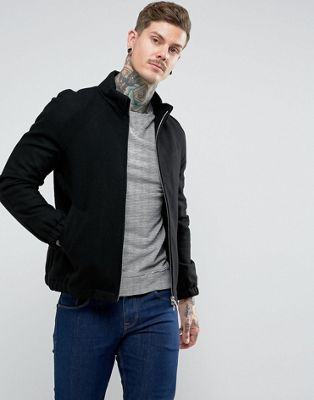 Pretty Green Birley Wool Blend Jacket