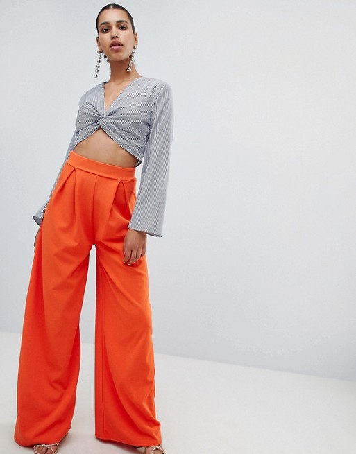Image 1 of PrettyLittleThing Extreme Wide Leg Pant