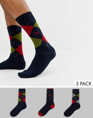 Pringle Waverley socks 3 pack