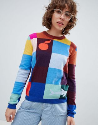 PS by Paul Smith colour block jumper