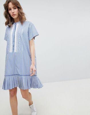 PS by Paul Smith – Gestreiftes Kleid