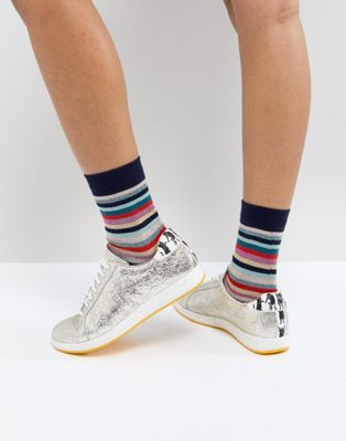 PS by Paul Smith Metallic Star Trainer