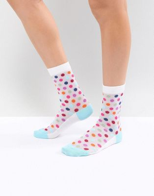 PS by Paul Smith Spot Mesh Sock