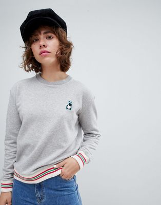 PS By Paul Smith – Sweatshirt mit Kaninchendesign