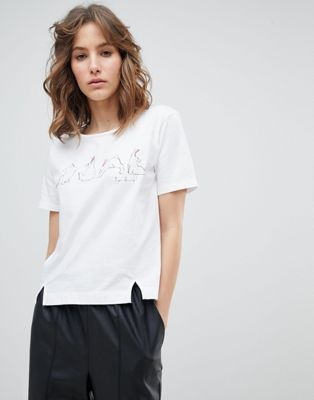 PS by Paul Smith Yoga Bunny T-Shirt